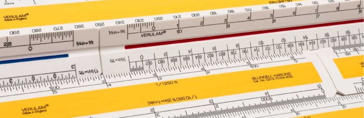 New scale rulers webshop